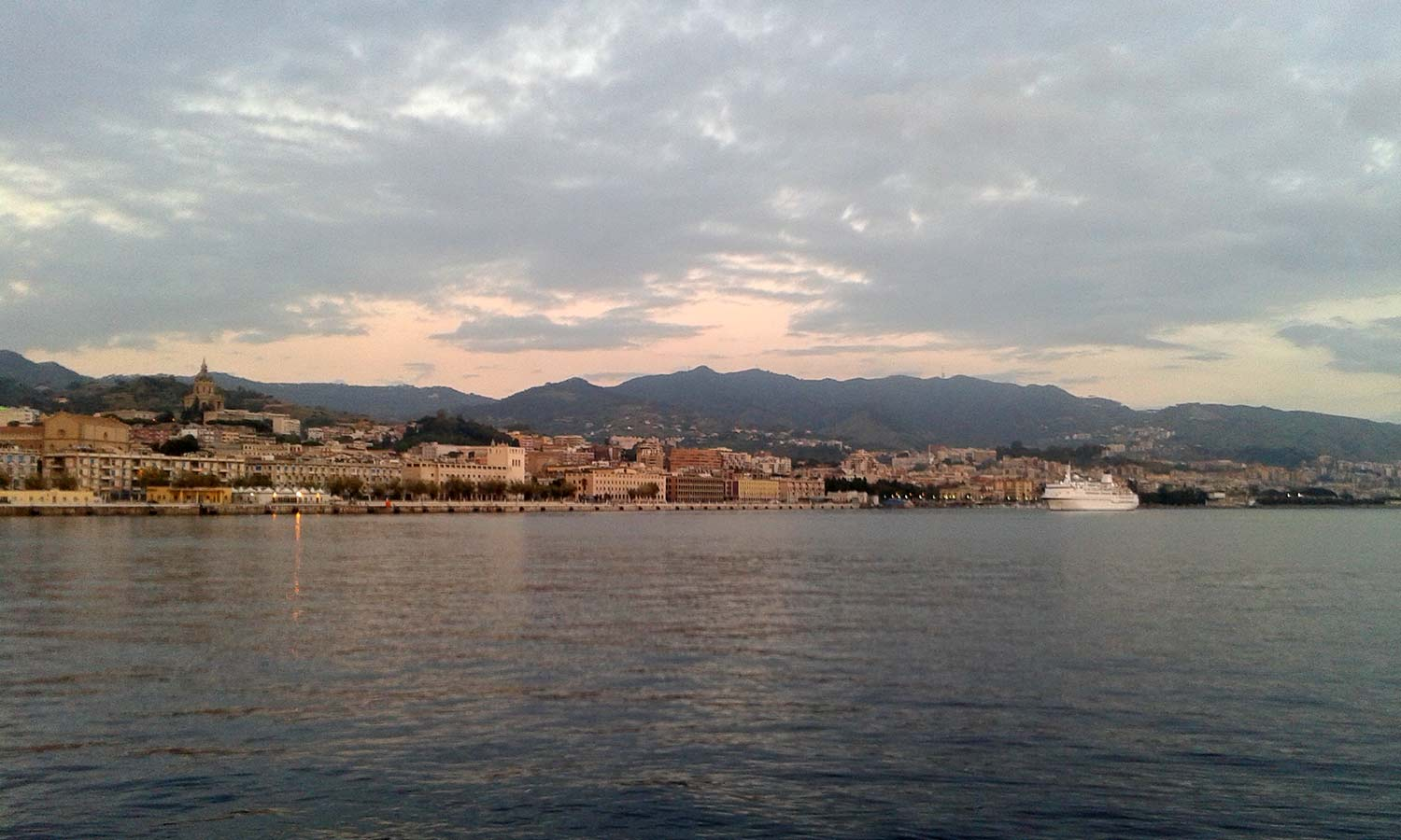 Messina from the harbour.